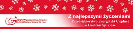 Wesołych Świąt życzy - PEC Gniezno
